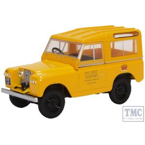 43LR2S004 Oxford Diecast O Gauge Land Rover Series II SWB Hard Top Post Office Telephones