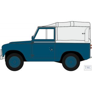 43LR2S007 Oxford Diecast O Gauge 1:43 Scale Land Rover Series II SWB Canvas RAF Police