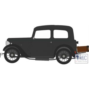 43RUB004 Oxford Diecast 1:43 Scale Austin Ruby Black