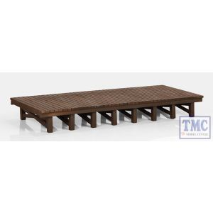 44-0010 Scenecraft OO Gauge Two Wooden Platforms