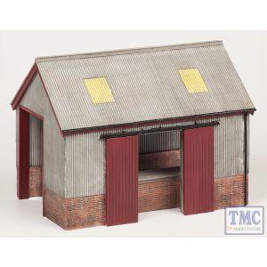44-0022 Scenecraft OO Gauge Corrugated Goods Shed