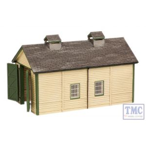 44-0029 Scenecraft OO Gauge Wooden Engine Shed