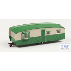 44-0032 Scenecraft OO Gauge 28' Static Caravan