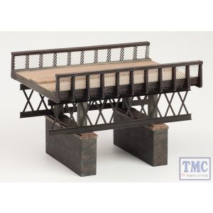 44-0041 Scenecraft OO Gauge Rail over River Bridge