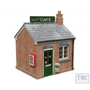 44-0071 OO Gauge Scenecraft Station Caf_
