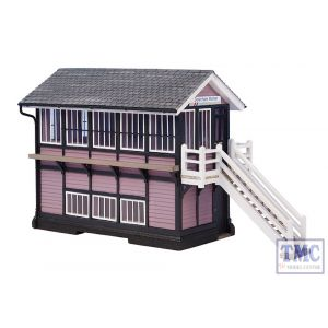 44-0074 OO Gauge Scenecraft Downham Market Signal Box