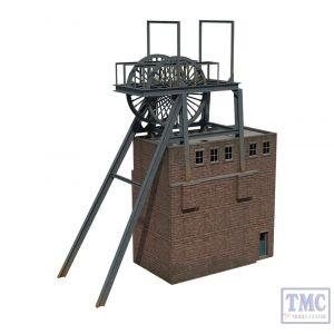 44-0075 OO Gauge Scenecraft Colliery Pit Head Lift
