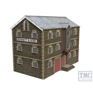 44-0079 OO Gauge Scenecraft Grain Warehouse