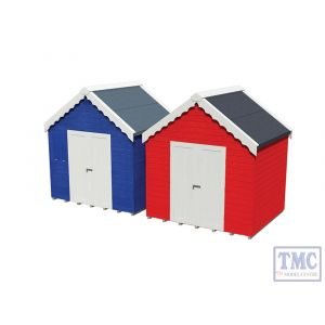 44-0080 OO Gauge Scenecraft Beach Huts