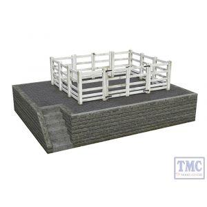 44-0081 OO Gauge Scenecraft Stone Cattle Dock