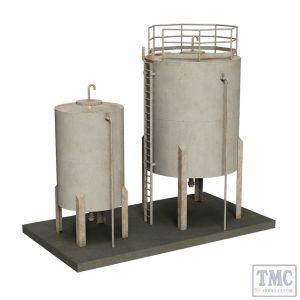 44-0110 Scenecraft OO Gauge Depot Storage tanks