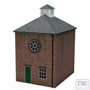44-0113 Scenecraft OO Gauge Brick Boiler Room