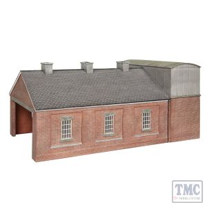 44-0114 Scenecraft OO Scale Lucston Steam Engine Shed