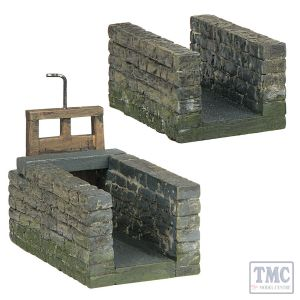 44-0142 Scenecraft OO Scale Watermill Race and Gate