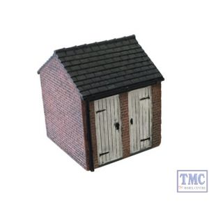 44-046X Scenecraft OO/HO Gauge Brick Outhouse (Double Sided)
