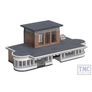 44-066 OO Gauge Scenecraft Art Deco Station Building