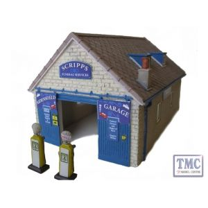 44-076Z Scenecraft OO Gauge Scripps Garage TMC Limited Edition