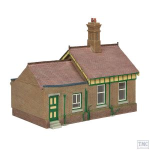 44-091G Scenecraft OO Gauge Bluebell Office and Store Room Green and Cream
