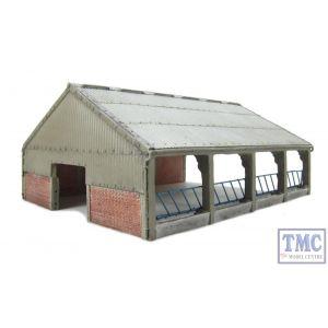 44-108 Scenecraft OO Gauge Modern Barn