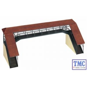 44-127 Scenecraft OO Gauge Covered Footbridge