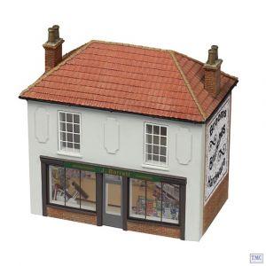 44-147 Scenecraft OO Gauge Corner Shop