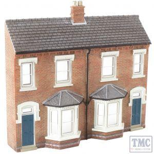 44-202 Scenecraft OO Gauge Low Relief Front Terraced Houses