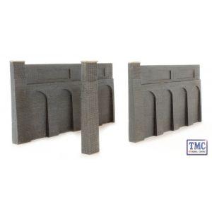 44-225 Scenecraft OO Gauge Low Relief Retaining Walls