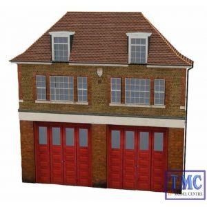 44-240 Scenecraft OO Gauge Low Relief Fire Station