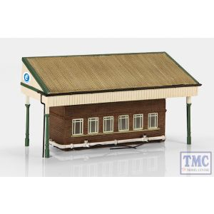 44-258 Scenecraft OO Gauge Low Relief Rail Milk Depot