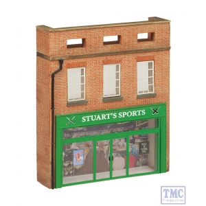 44-272 Scenecraft OO Gauge Low Relief Stuarts Sports Shop