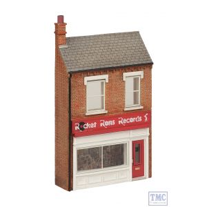 44-273 Scenecraft OO Gauge Low Relief Rocket Ron's Record Shop