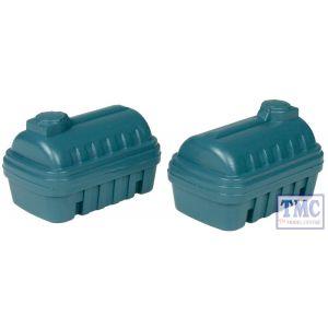 44-500 Scenecraft OO Gauge Plastic Bunded Tanks (x2)