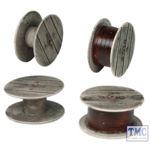 44-504 Scenecraft OO Gauge Cable Drums (x4)