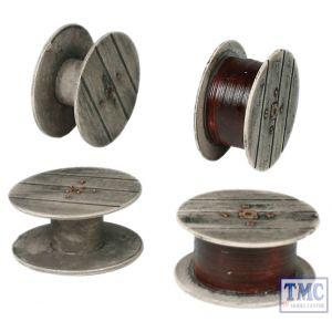 44-504 Scenecraft OO Gauge Cable Drums (x4)