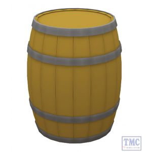 44-518 Scenecraft OO Gauge Wooden Barrels (x10)