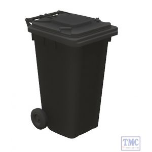 44-525 Scenecraft OO Gauge Domestic Wheelie Bins (x10)