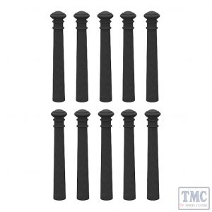 44-530 Scenecraft OO Gauge Cast Iron Bollards (x10)