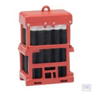 44-537 Scenecraft OO/HO Gauge Caged Gas Bottles
