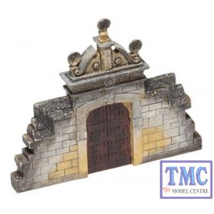 44-540 Scenecraft OO Gauge Derelict Estate Gateway