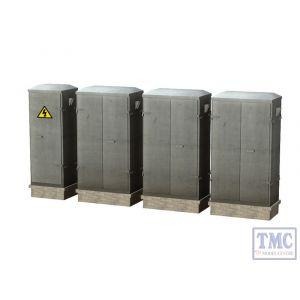 44-560 OO Gauge Scenecraft Lineside Cabinets
