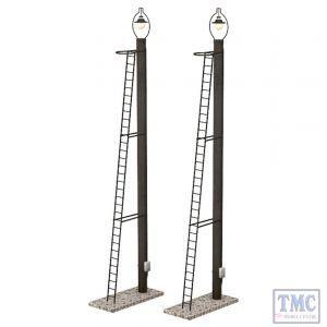 44-561 Scenecraft OO Gauge Wooden Post Yard Lamps