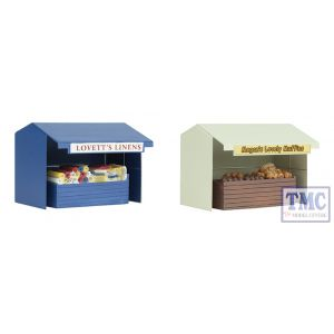 44-583 Scenecraft OO Gauge Two Market Stalls