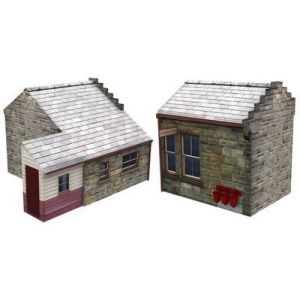 44-022Y Scenecraft OO Gauge Goathland Station Extension TMC Limited Edition