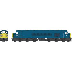 45304 Heljan OO Gauge Class 45 BR blue 45033 'Sirius' with full yellow ends and Tinsley names - WEATHERED