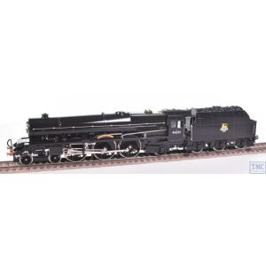 Hornby OO Gauge 4-6-2 Princess Elizabeth 46201 BR Black E/Emb Coal Crew Renamed/Renumbered & Glossed by TMC (R2426)(Pre-owned)
