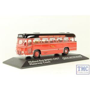 Atlas 4655112 CM5T Coach - Midland Red (motorway)
