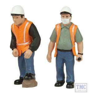 47-403 Scenecraft O Gauge Lineside workers C (pack of 2 figures)