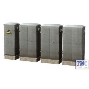 47-560 Scenecraft O Gauge Lineside cabinets