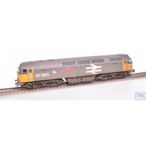 31-664 Bachmann OO Gauge Class 47/0 47050 BR Railfreight with Deluxe Weathering by TMC