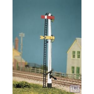 477 Ratio LNWR Square Post (4 signals inc. Jcn/brackets) OO Gauge Plastic Kit
